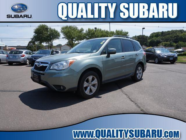 2015 subaru forester limited awd limited 4dr wagon for sale in wallingford. Black Bedroom Furniture Sets. Home Design Ideas