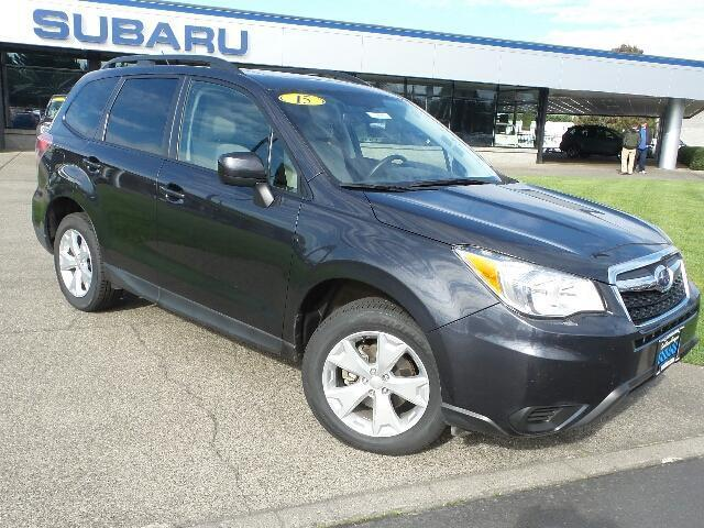 2015 subaru forester premium awd premium 4dr wagon cvt for sale in medford oregon. Black Bedroom Furniture Sets. Home Design Ideas