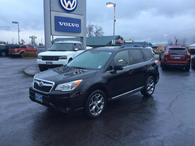 2015 subaru forester touring awd touring 4dr wagon for sale in eugene oregon. Black Bedroom Furniture Sets. Home Design Ideas