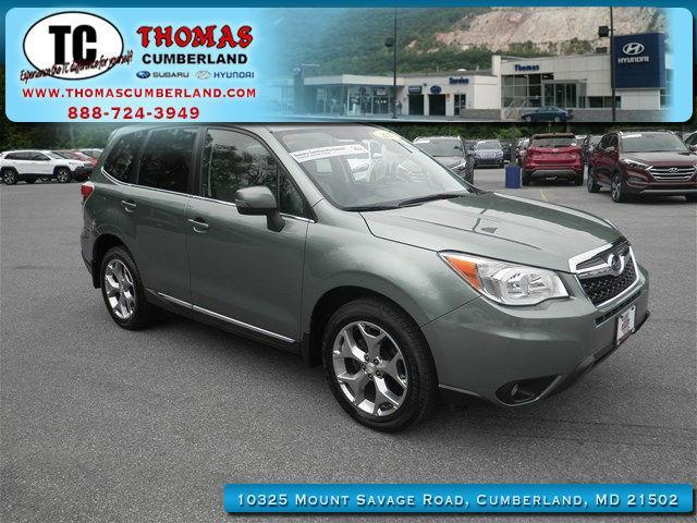2015 subaru forester touring awd touring 4dr wagon for sale in cumberland maryland. Black Bedroom Furniture Sets. Home Design Ideas