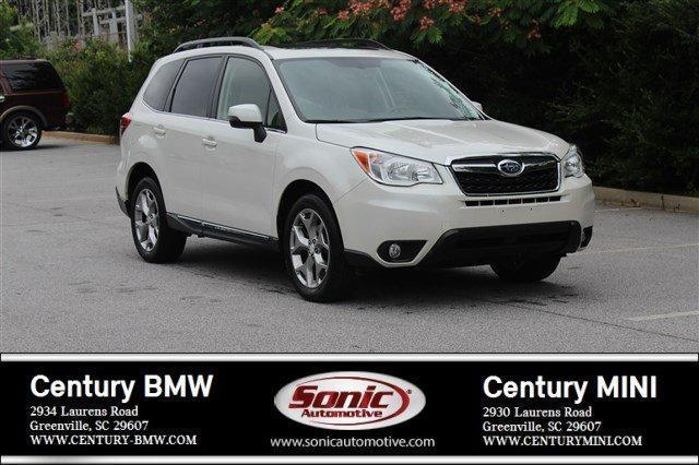 2015 subaru forester touring awd touring 4dr wagon for sale in greenville south. Black Bedroom Furniture Sets. Home Design Ideas