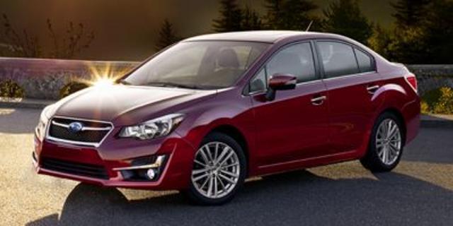 2015 Subaru Impreza 2.0i AWD 2.0i 4dr Sedan CVT