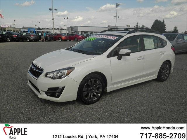 2015 subaru impreza sport premium awd sport premium 4dr wagon cvt for sale in york. Black Bedroom Furniture Sets. Home Design Ideas