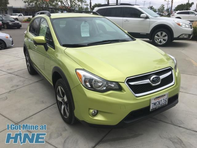 2015 subaru xv crosstrek hybrid awd hybrid 4dr crossover for sale in rancho california. Black Bedroom Furniture Sets. Home Design Ideas