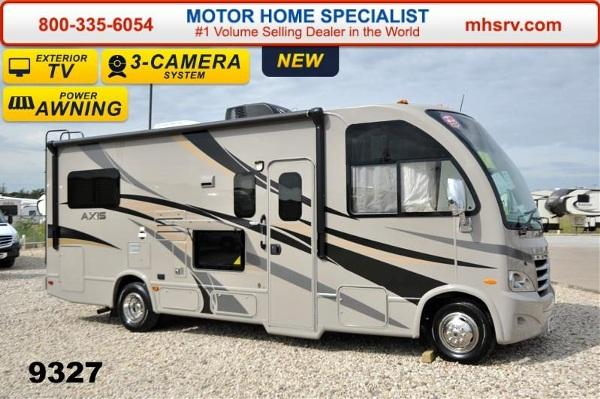 2015 Thor Motor Coach Axis 24 1 W/Slide IFS 3 TV 4 Bed & 1
