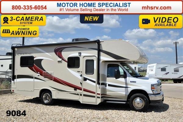 2015 thor motor coach chateau 24c w slide tv pwr awning for Motor home specialist inc alvarado texas