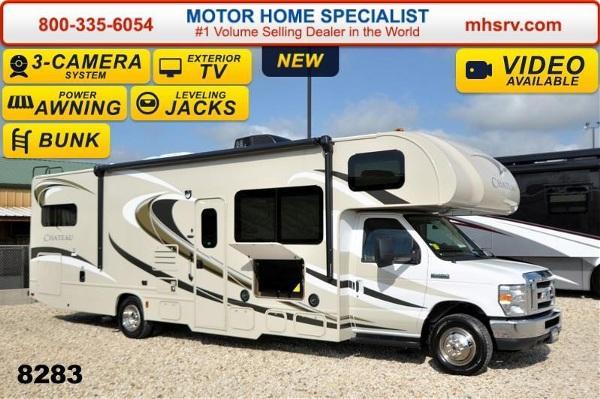 2015 thor motor coach chateau 31e bunk house w jacks 3 for Motor home specialist inc alvarado texas