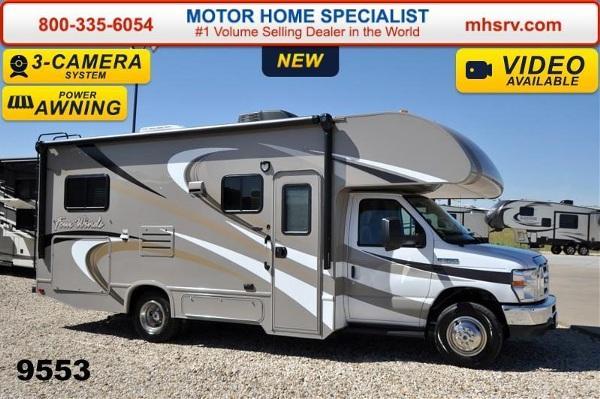 2015 thor motor coach four winds 24c w slide 3 cams tv for Motor home specialist inc alvarado texas