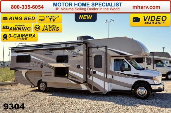2015 Thor Motor Coach Four Winds 28f W Jacks King Bed