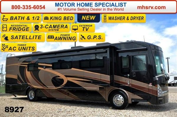2015 thor motor coach tuscany 40rx bath 1 2 w stack w d for Motor home specialist inc alvarado texas