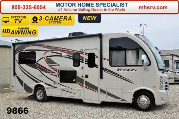 2015 thor motor coach vegas 24 1 w slide ifs 4 beds 3 tv for Thor motor coach vegas for sale