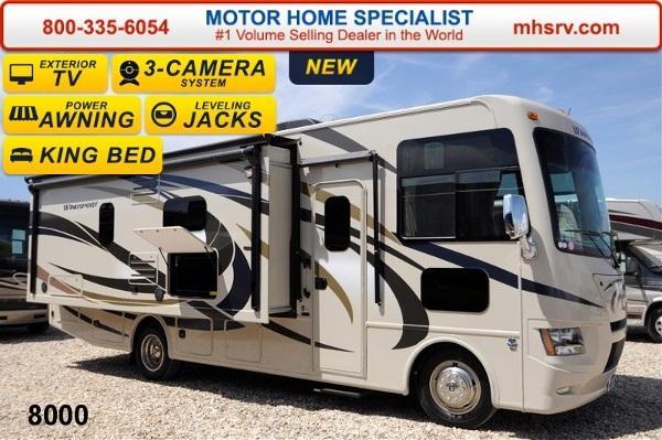 2015 Thor Motor Coach Windsport 27K W/Jacks King Bed & L