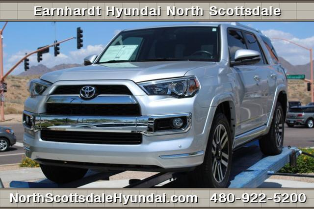 Earnhardt Hyundai North Scottsdale >> 2015 Toyota 4Runner Limited AWD Limited 4dr SUV for Sale in Scottsdale, Arizona Classified ...