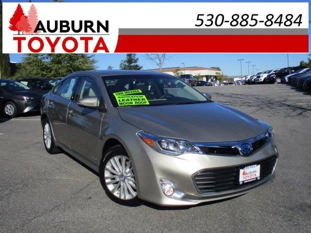 2015 toyota avalon hybrid limited limited 4dr sedan for sale in auburn california classified. Black Bedroom Furniture Sets. Home Design Ideas
