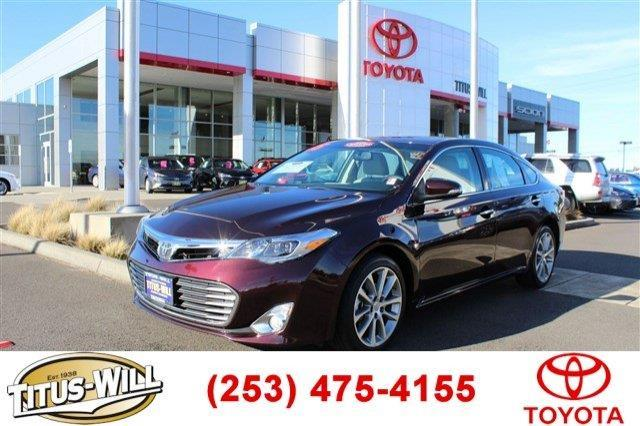 2015 toyota avalon xle touring xle touring 4dr sedan for sale in tacoma washington classified. Black Bedroom Furniture Sets. Home Design Ideas