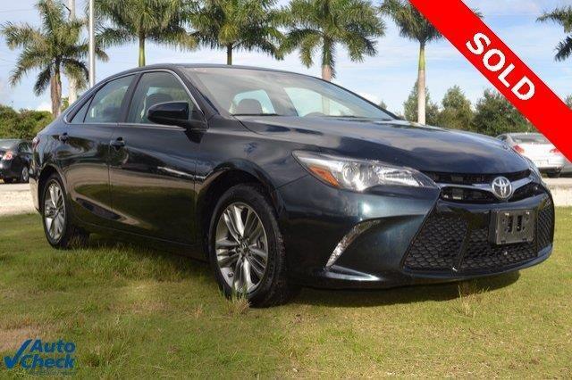 2015 Toyota Camry Se Se 4dr Sedan For Sale In Homestead