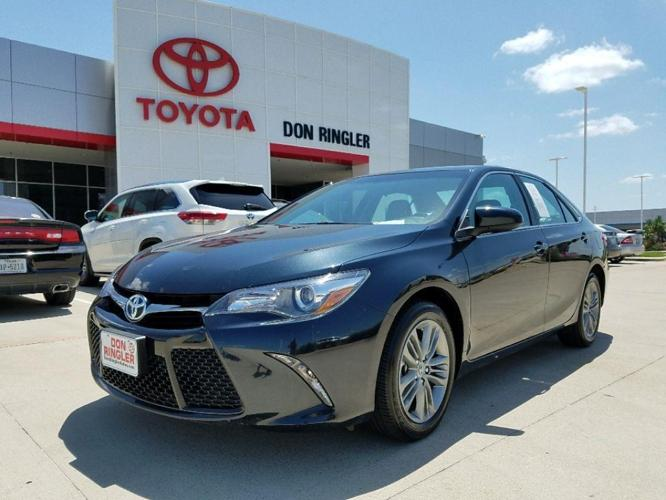 2015 toyota camry se se 4dr sedan for sale in temple texas classified. Black Bedroom Furniture Sets. Home Design Ideas