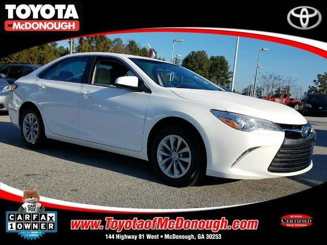 2015 toyota camry xle xle 4dr sedan for sale in mcdonough georgia. Black Bedroom Furniture Sets. Home Design Ideas