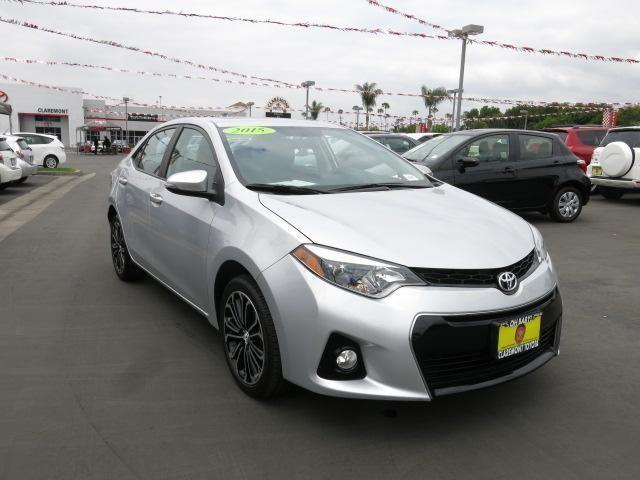 2015 toyota corolla 4dr car s plus for sale in claremont california classified. Black Bedroom Furniture Sets. Home Design Ideas