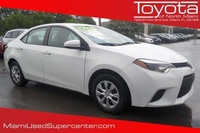 2015 toyota corolla l l 4dr sedan 6m for sale in miami florida classified. Black Bedroom Furniture Sets. Home Design Ideas