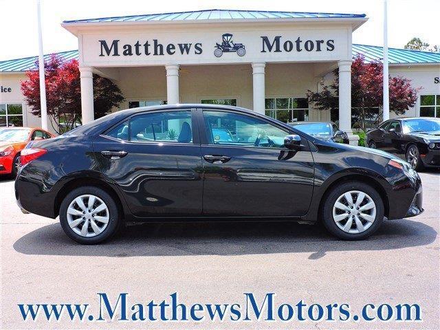 2015 toyota corolla le le 4dr sedan for sale in goldsboro for Matthews motors goldsboro nc