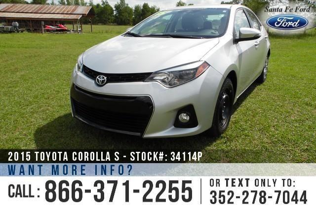 2015 Toyota Corolla S - 16K Miles - Financing