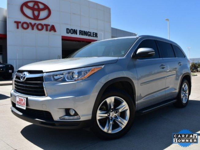2015 Toyota Highlander Fwd Limited V6 For Sale In Temple  Texas Classified