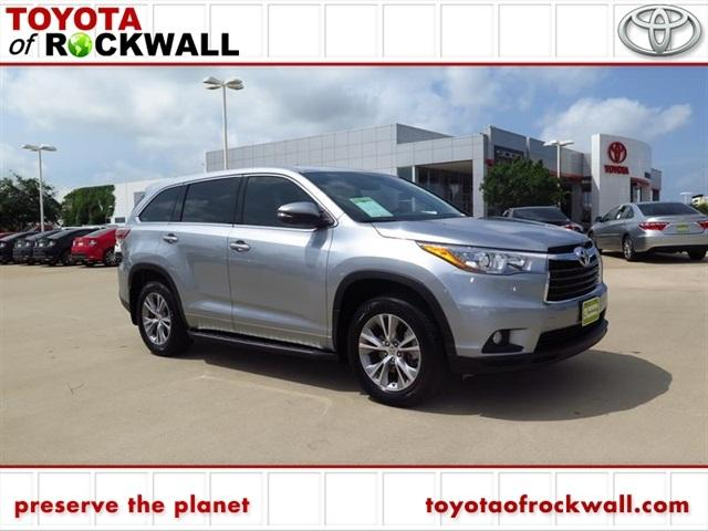 2015 toyota highlander le 4dr suv for sale in rockwall texas classified. Black Bedroom Furniture Sets. Home Design Ideas