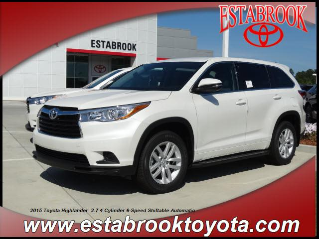 2015 Toyota Highlander LE Moss Point, MS