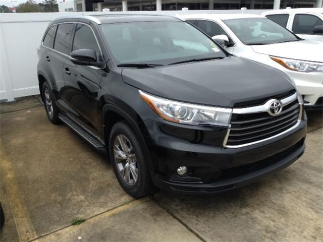 2015 toyota highlander xle 4dr suv for sale in hammond louisiana classified. Black Bedroom Furniture Sets. Home Design Ideas