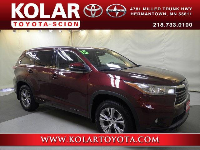 2015 Toyota Highlander XLE AWD XLE 4dr SUV for Sale in ...