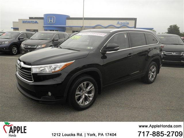 2015 toyota highlander xle awd xle 4dr suv for sale in york pennsylvania classified. Black Bedroom Furniture Sets. Home Design Ideas