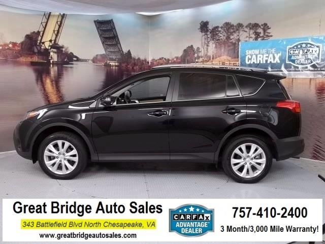 2015 toyota rav4 limited awd limited 4dr suv for sale in chesapeake virginia classified. Black Bedroom Furniture Sets. Home Design Ideas