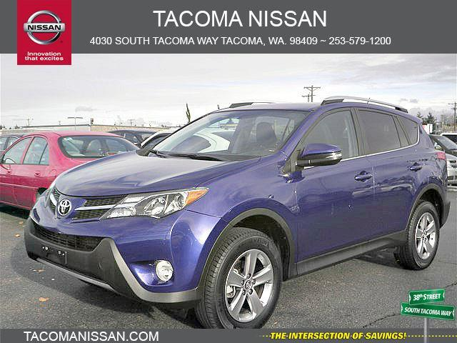 2015 toyota rav4 xle awd xle 4dr suv for sale in tacoma washington classified. Black Bedroom Furniture Sets. Home Design Ideas