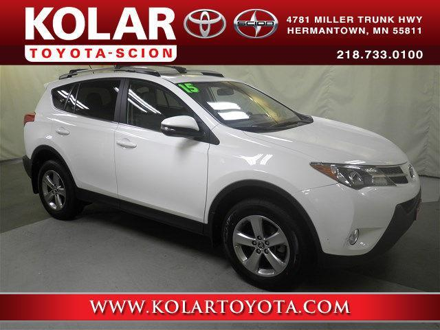2015 toyota rav4 xle awd xle 4dr suv for sale in duluth minnesota classified. Black Bedroom Furniture Sets. Home Design Ideas