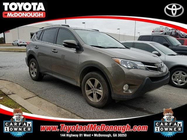 2015 toyota rav4 xle xle 4dr suv for sale in mcdonough georgia classified. Black Bedroom Furniture Sets. Home Design Ideas