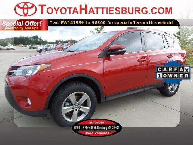2015 toyota rav4 xle xle 4dr suv for sale in hattiesburg mississippi classified. Black Bedroom Furniture Sets. Home Design Ideas