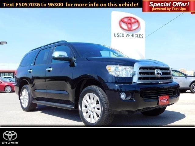 2015 toyota sequoia platinum 4x2 platinum 4dr suv for sale in san angelo texas classified. Black Bedroom Furniture Sets. Home Design Ideas