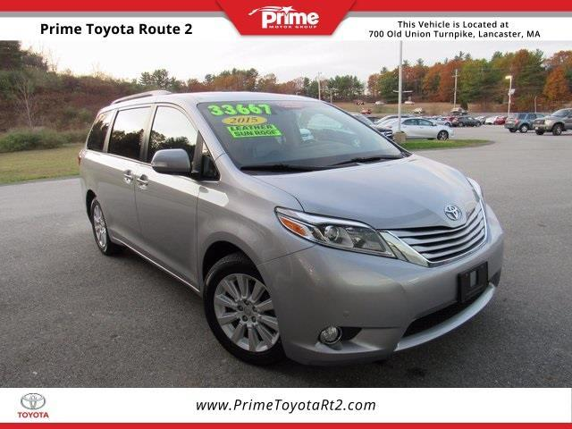 2015 Toyota Sienna Limited 7 Passenger Awd Limited 7