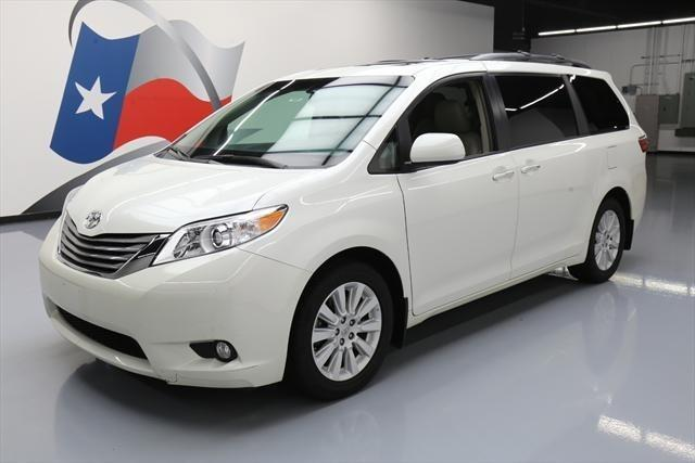 2015 toyota sienna limited 7 passenger awd limited 7 passenger 4dr mini van for sale in houston. Black Bedroom Furniture Sets. Home Design Ideas