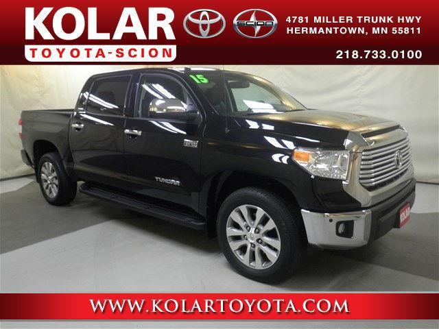 Kolar Toyota Duluth Minnesota >> 2015 Toyota Tundra Limited 4x4 Limited 4dr CrewMax Cab ...