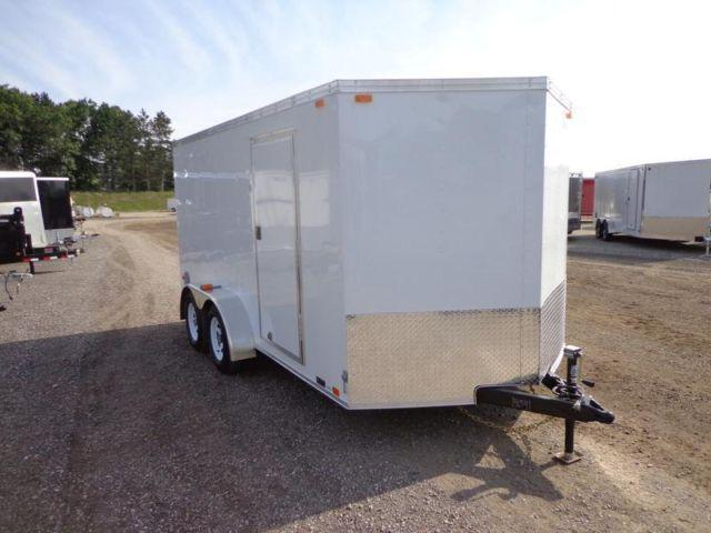 2015 United Trailers 7 X 14 Enclosed Cargo Contractor