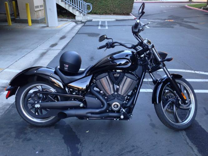 2015 victory vegas 8 ball bike for sale in indianapolis indiana classified. Black Bedroom Furniture Sets. Home Design Ideas