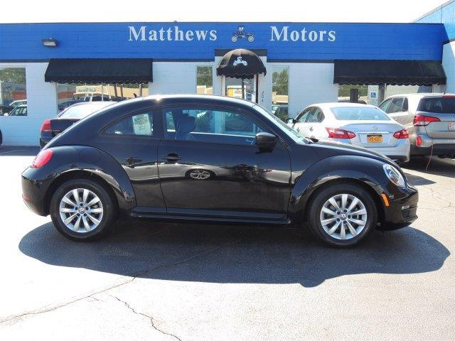 2015 volkswagen beetle 1 8t entry pzev 1 8t entry pzev 2dr for Matthews motors goldsboro nc