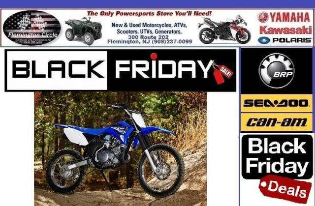 2015 yamaha tt r125le black friday sale for sale in for Black friday yamaha