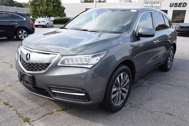 2016 acura mdx sh awd w tech sh awd 4dr suv w technology package for sale in greenville south. Black Bedroom Furniture Sets. Home Design Ideas