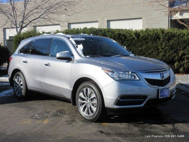 2016 acura mdx sh awd w tech sh awd 4dr suv w technology package for sale in boise idaho. Black Bedroom Furniture Sets. Home Design Ideas