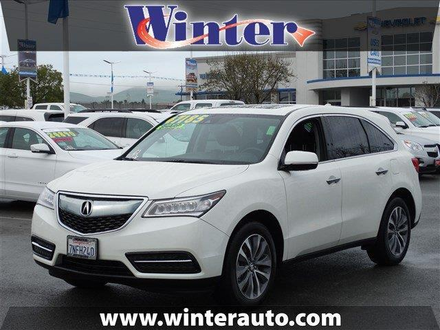 2016 acura mdx sh awd w tech sh awd 4dr suv w technology package for sale in bay point. Black Bedroom Furniture Sets. Home Design Ideas