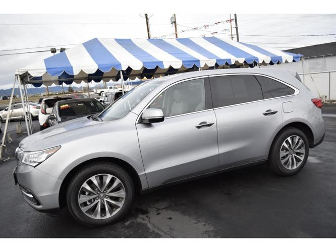 2016 acura mdx sh awd w tech sh awd 4dr suv w technology package for sale in medford oregon. Black Bedroom Furniture Sets. Home Design Ideas
