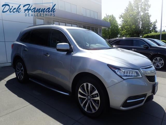 2016 acura mdx sh awd w tech sh awd 4dr suv w technology package for sale in portland oregon. Black Bedroom Furniture Sets. Home Design Ideas